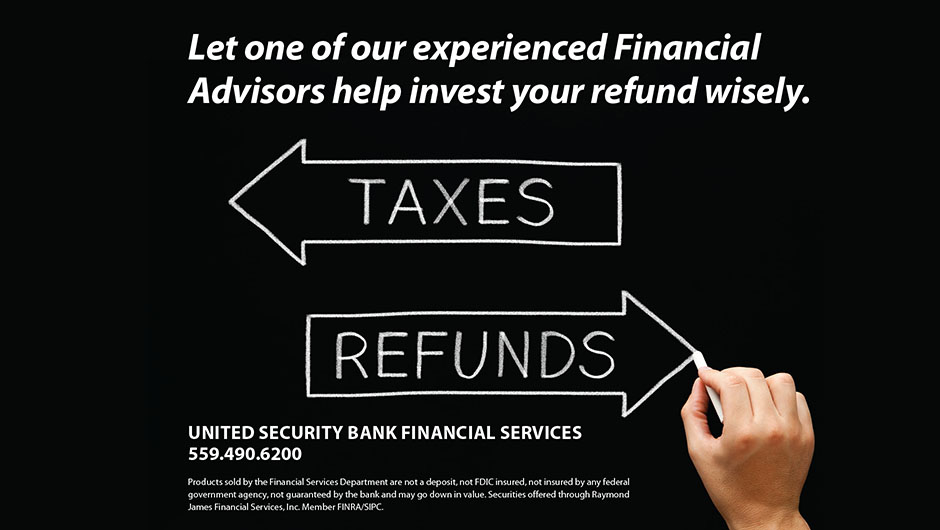 Tax Refund Investing Arrows Website