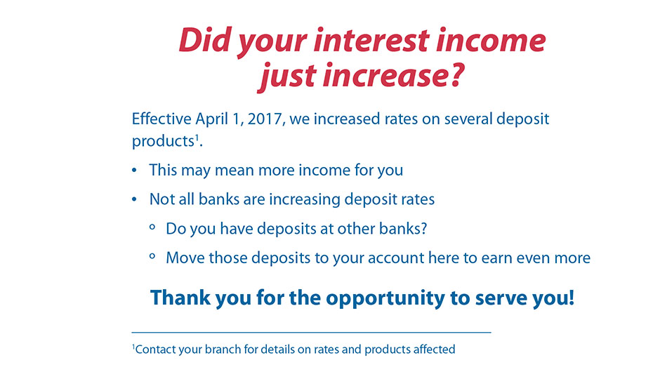 Interest Income Wesbsite